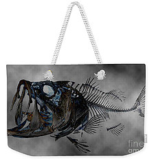 Bass Art Weekender Tote Bag