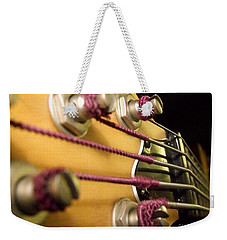 Weekender Tote Bag featuring the photograph Bass II by Andrea Anderegg