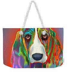 Basset Hound Weekender Tote Bag