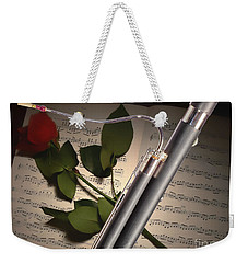 Bassoon Music Instrument Photograph In Color 3406.02 Weekender Tote Bag