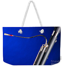 Bassoon Music Instrument Fine Art Prints Canvas Prints Greeting Cards In Color 3407.02 Weekender Tote Bag