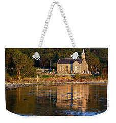 Weekender Tote Bag featuring the photograph Bathed In Gods Light by Wendy Wilton