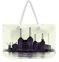 Battersea Power Station Vintage Weekender Tote Bag