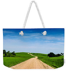 Battle Creek Road From The Saddle Weekender Tote Bag
