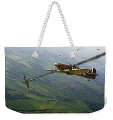 Battle Of Britain Dogfight Weekender Tote Bag by Gary Eason