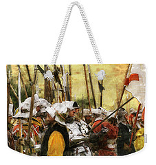 Battle Of Tewkesbury Weekender Tote Bag