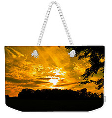 Battle Of The Clouds Weekender Tote Bag