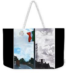 Battleline Weekender Tote Bag by Nina Ficur Feenan