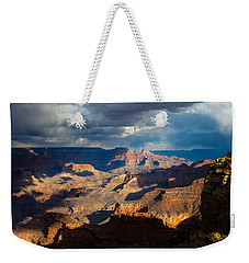 Battleship Rock In The Shadows Weekender Tote Bag