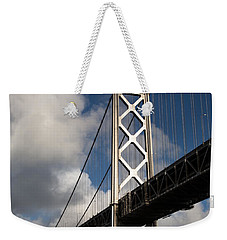 Bay Bridge After The Storm Weekender Tote Bag