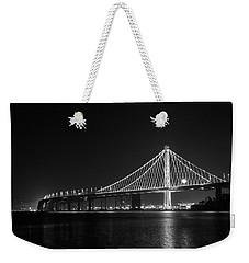 Bay Bridge Moon Weekender Tote Bag