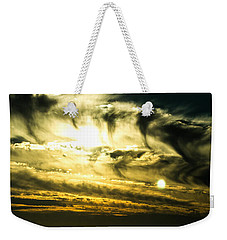 Bay Bridge Sunset Weekender Tote Bag