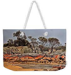 Bay Of Fires 2 Weekender Tote Bag by Wallaroo Images