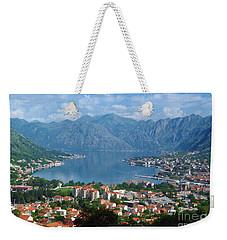 Bay Of Kotor - Montenegro Weekender Tote Bag