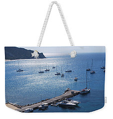 Weekender Tote Bag featuring the photograph Bay Of Porto by George Katechis