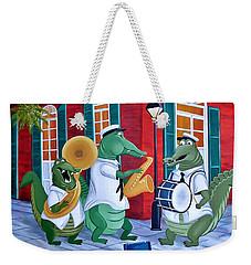Bayou Street Band Weekender Tote Bag