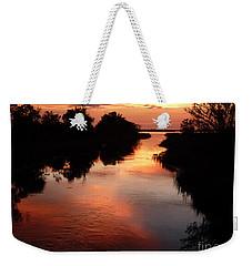 Bayport Sunset Weekender Tote Bag