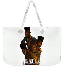 Bdk White Bg Weekender Tote Bag by Nelson Dedos Garcia