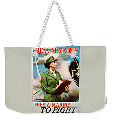 Be A Marine - Free A Marine To Fight Weekender Tote Bag