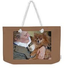 Be Better Soon Weekender Tote Bag by Ann Horn