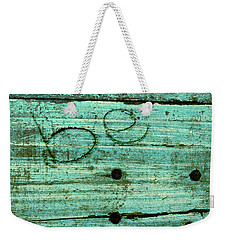 Weekender Tote Bag featuring the photograph Be by Jocelyn Friis