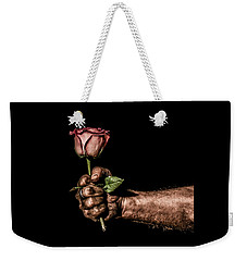 Weekender Tote Bag featuring the photograph Be Mine by Aaron Aldrich