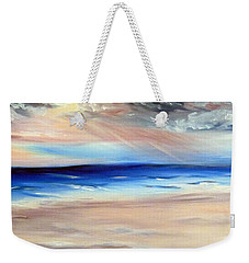 Weekender Tote Bag featuring the painting Be Near by Meaghan Troup
