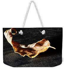 Weekender Tote Bag featuring the photograph Be Still With Yourself by Lauren Radke