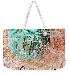 Weekender Tote Bag featuring the painting Be The Buddha by Jacqueline McReynolds