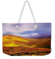 Be There The Light. Wicklow Hills Weekender Tote Bag