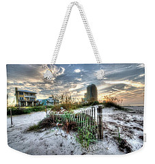 Beach And Buildings Weekender Tote Bag