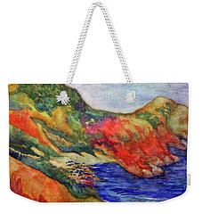 Beach At Moraira Weekender Tote Bag