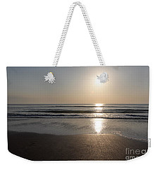 Weekender Tote Bag featuring the photograph Beach At Sunrise by Todd Blanchard