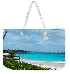 Beach At Tippy's Weekender Tote Bag