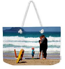 Beach Baby Weekender Tote Bag by Terri Waters
