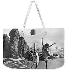 Beach Ball Dancing Weekender Tote Bag by Underwood Archives