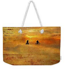 Beach Bike Too Weekender Tote Bag