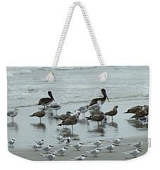 Beach Birds Weekender Tote Bag
