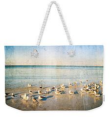 Beach Combers - Seagull Art By Sharon Cummings Weekender Tote Bag