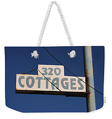 Beach Cottages Weekender Tote Bag by Art Block Collections