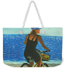 Beach Cruiser Weekender Tote Bag