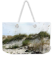 Weekender Tote Bag featuring the photograph Beach Dune by Chris Thomas