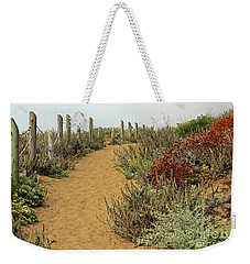 Weekender Tote Bag featuring the photograph Beach Dune  by Kate Brown