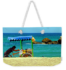 Beach Entrepreneur In San Jose Del Cabo Weekender Tote Bag