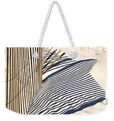 Beach Fence Weekender Tote Bag