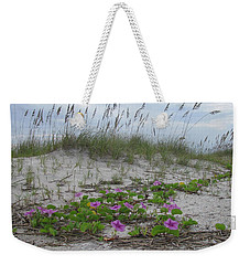 Beach Flowers Weekender Tote Bag