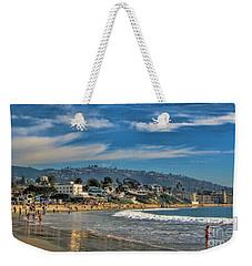 Beach Fun Weekender Tote Bag by Tammy Espino