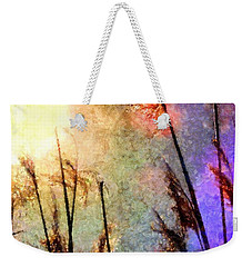 Beach Grass Afternoon Weekender Tote Bag by Janine Riley