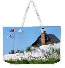 Beach House Weekender Tote Bag