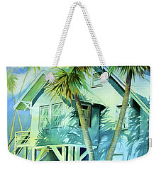 Beach Cottage Weekender Tote Bag